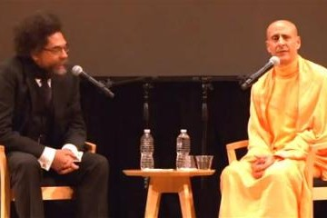 Radhanath-Swami-and-Dr-Cornel-West