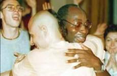 Radhanath Swami Chants Bhaktitirtha Swami