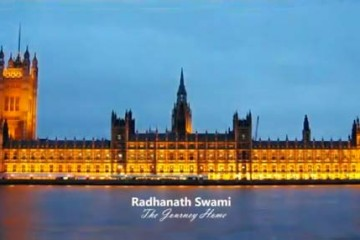 Radhanath Swami in UK Parliament