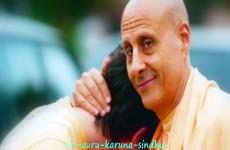 Radhanath Swami vyas puja offering