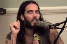 Radhanath Swami and Russell Brand
