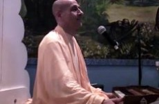 Radhanath Swami in Krishna Dham