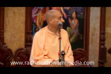 Radhanath Swami expounds the dynamics of divine love