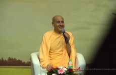 Radhanath Swami at the Litomania Literary Festival
