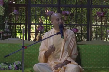 "Radhanath Swami on ""Purifying our desires and ego"""