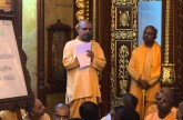 Radhanath Swami innaugurates Book about stories of Book Marathon