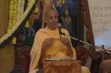Radhanath Swami on Principle Of Celebrating Pushya Abhishek