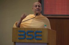 Conscious Leadership by Radhanath Swanmi at BSE Event